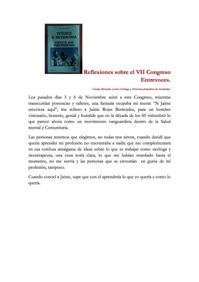 reflexiones sobre el vii congreso entrevoces (1)